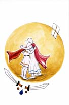 Odisea: Odiseo-y-Telemaco-se-reencuentran